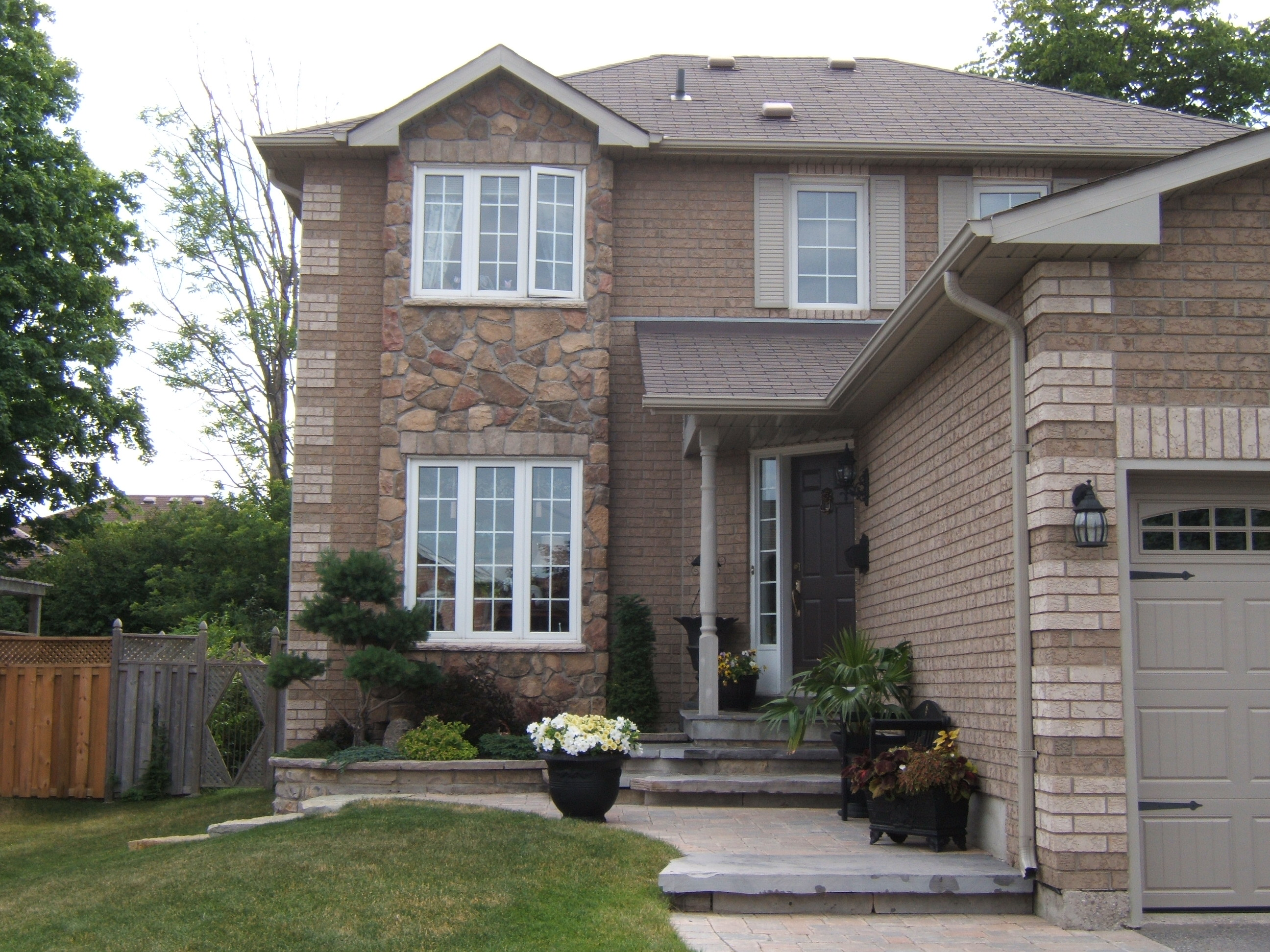 Cultured Stone Exterior House