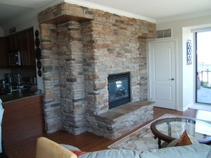 Cultured Stone Barrie Fireplace