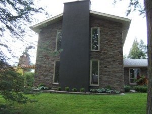 A modern look of profit cultured stone to add curb appeal of cultured stone Barrie