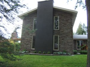 Front view of house with Pro-Fit Alpine Cultured Stone.