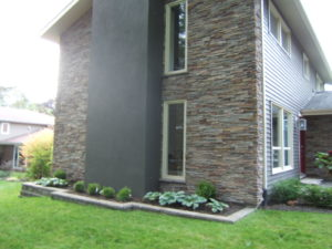Pro-Fit Alpine Ledge Stone on Barrie home.
