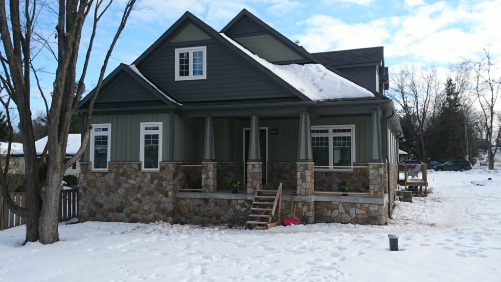 Aspen Cultured Stone on house