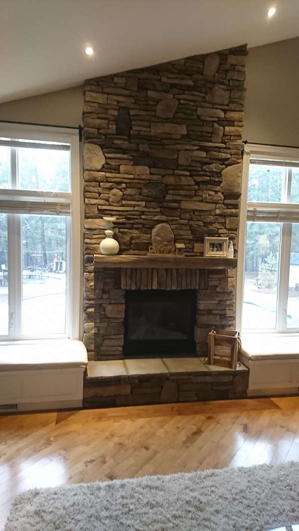 Dry Stack Vs Mortar Joints The, Stacked Rock Fireplace Pictures